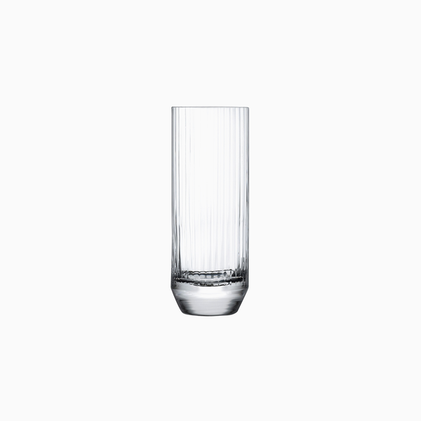 Reeded Highball Glasses (set of 4)