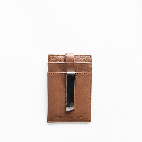 WANT Les Essentiels - Money Clip Wallet (cognac)