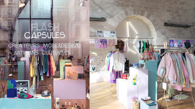 Pop-up le 1 et 2 mai chez Flash Capsules à Paris