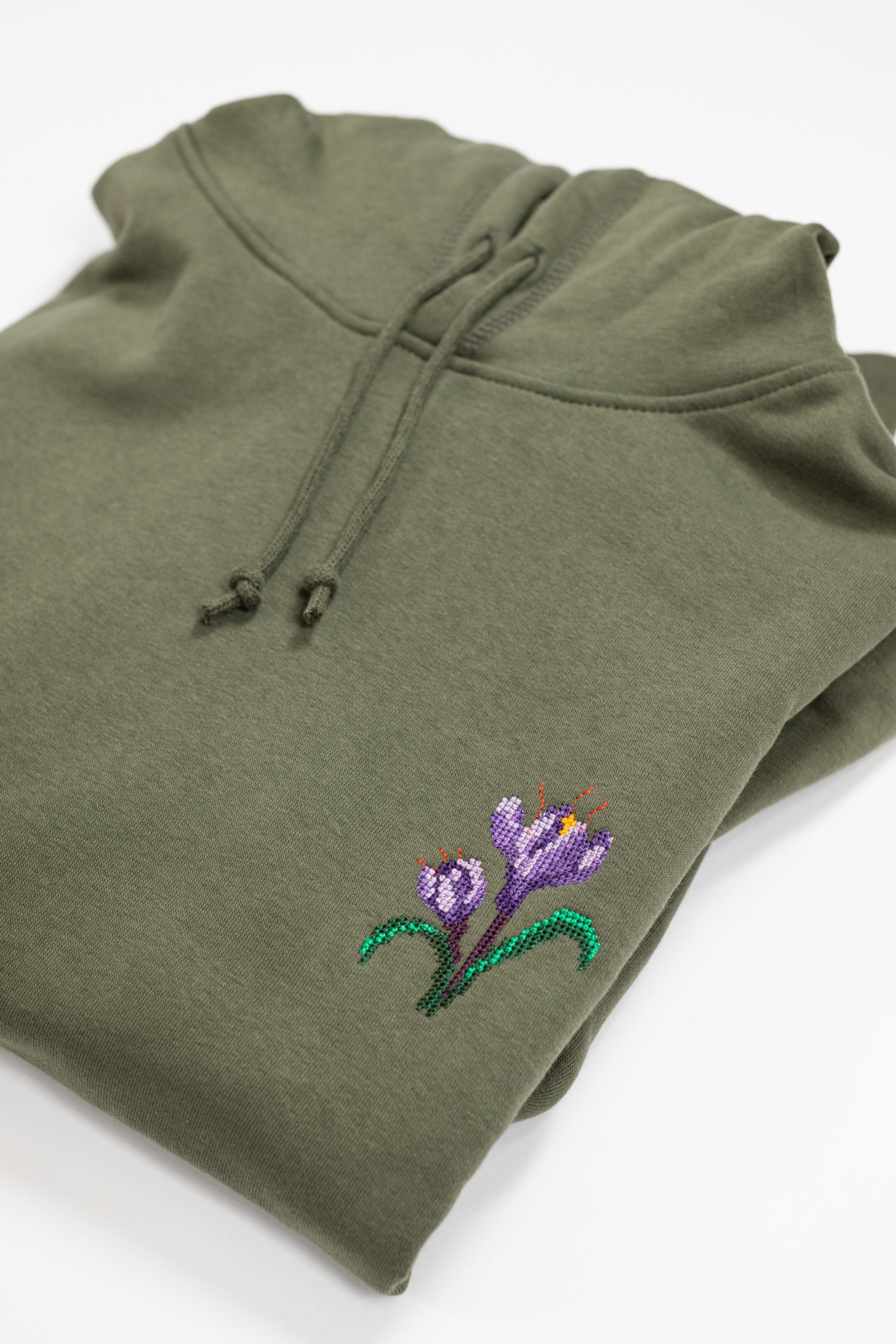 Sweat Crocus en coton bio
