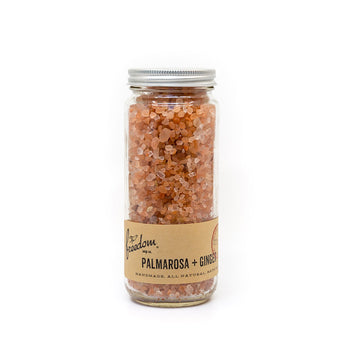 PALMAROSA + GINGER BATH SALTS