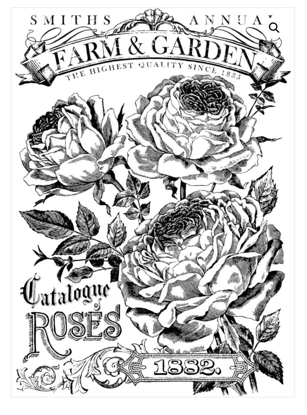 Catalogue of Roses Transfer