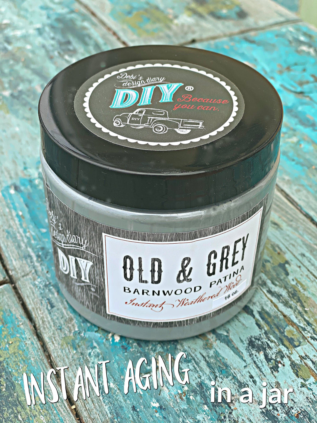 Old & Grey Liquid Patina