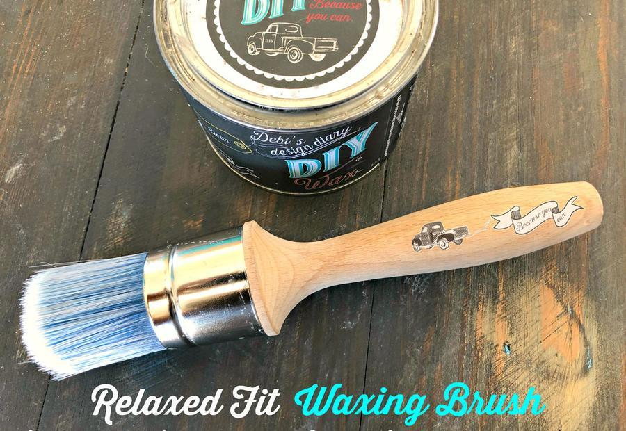 DIY PAINT - RELAXED FIT WAX BRUSH