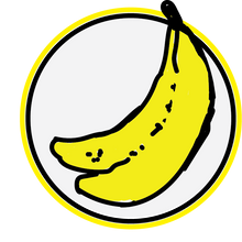 Load image into Gallery viewer, Logo Sticker Stickers BOMBANANA