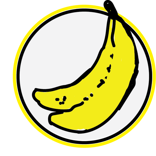 Logo Sticker Stickers BOMBANANA