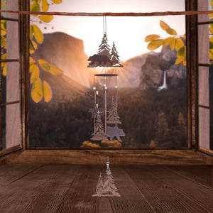 Mountain Bear Wind Chime