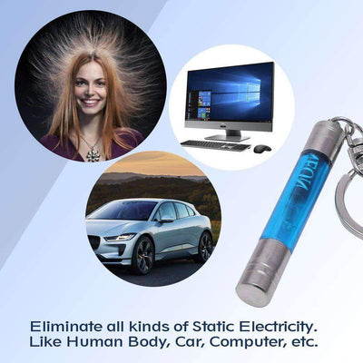 Car Static Eliminator Keychain
