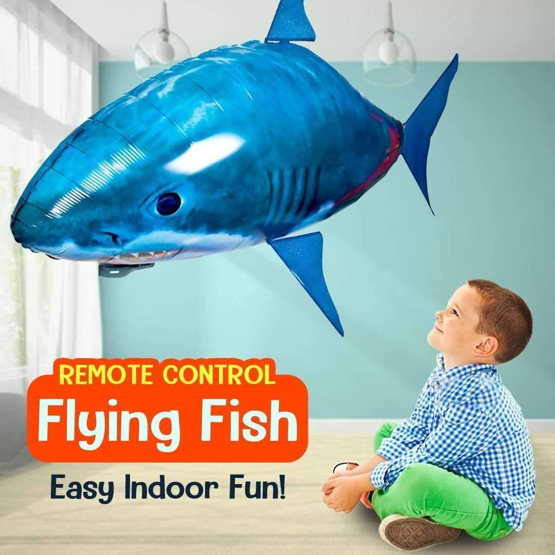 Remote Control Flying Fish Balloon