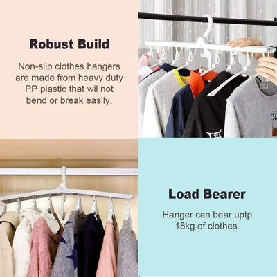 8 In 1 Foldable Clothes Hanger