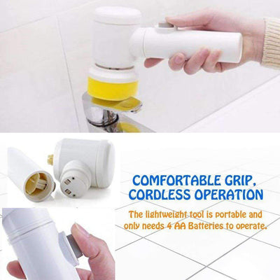 5 in 1 Handheld Electric Cleaning Brush
