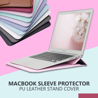 PU Leather Sleeve Protector Bag for MacBook