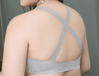 Seamless Wireless Ice Silk Sport Bra