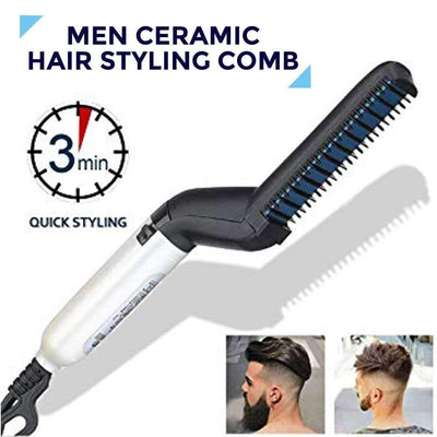Men Ceramic Hair Styling Comb