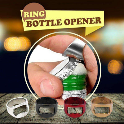 Flirty Bottle Opener Ring - 2pcs