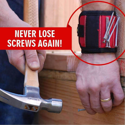 Magnetic Wristband Tool Bag