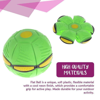 Flying UFO Flat Throw Disc Ball