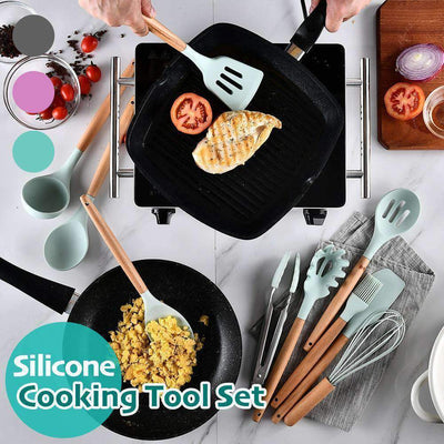 Silicone Cooking Tool Set -  9/10/11/12pcs