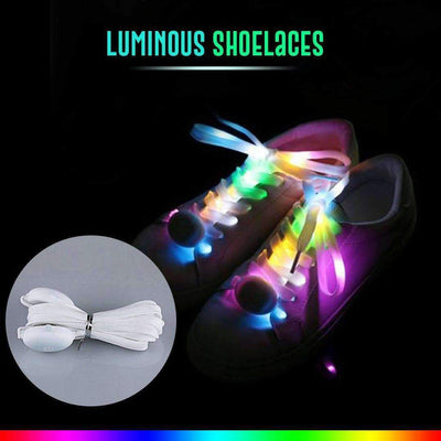 4-Mode LED Light Up Shoe Laces