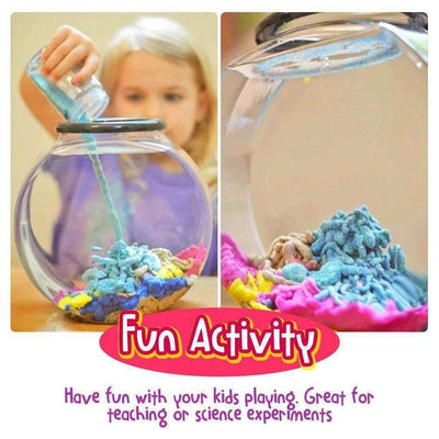 DIY Aqua Magic Sand