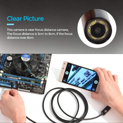 Waterproof Inspection Borescope Camera