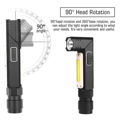 90-Degree Rotatable Torch