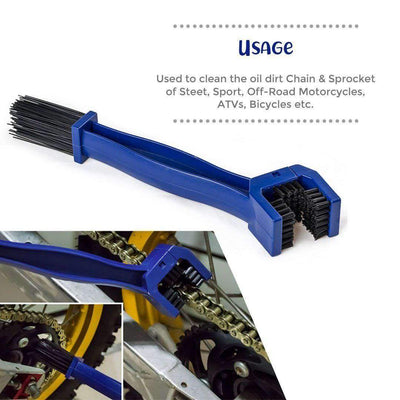 Bike Chain Maintenance Cleaning Brush