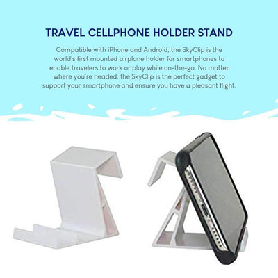 Plane Seat Back Phone Clip