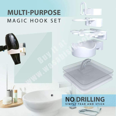 Multi-Purpose Magic Hooks Set