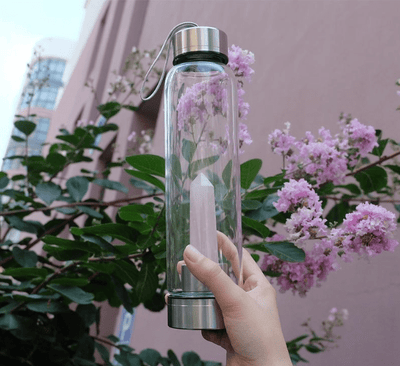 Elixir Crystal Water Bottle