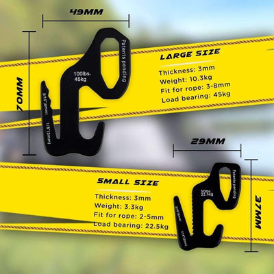 9-Shaped Rope Tightener
