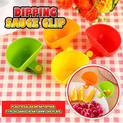 Dipping Sauce Clips -  4pcs