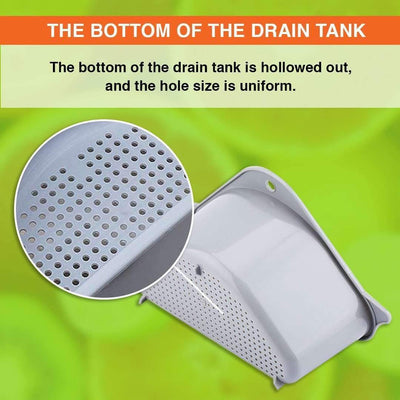Multifunctional Drain Shelf