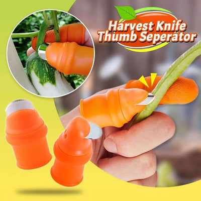 Harvest Knife Thumb Seperator