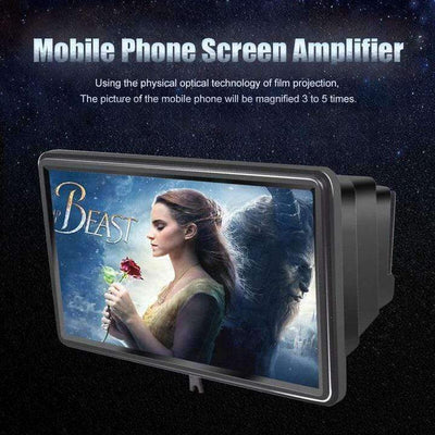 Foldable Mobile Phone Screen Amplifier