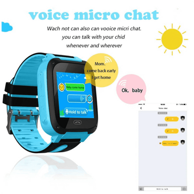 Last Day Promotion 80%OFF -KIDSAFE - GPS POSITIONING SMART WATCH