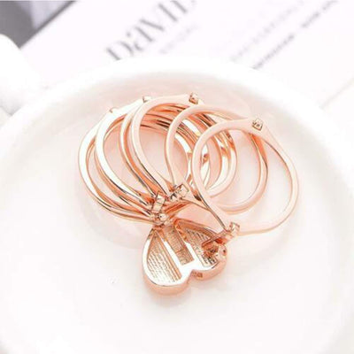 2-In-1 Folding Love Ring Bracelet