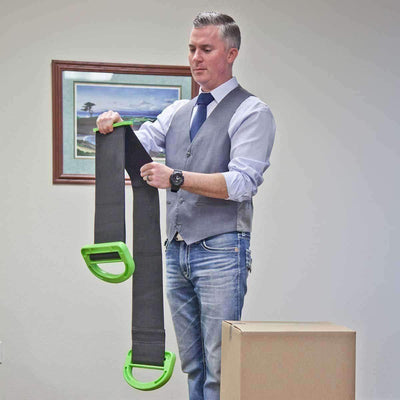 Ergonomic Heavy Duty Lifting Strap