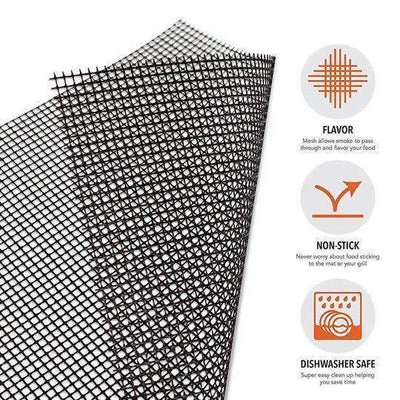 Buy 1 Get 1 Free>>BBQ Grill Mesh Mat(Non-Stick)