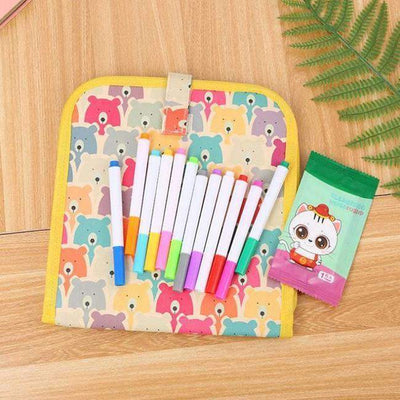 🔥50% OFF🔥Erasable and Reusable Drawing Pad (12 Colored Pens Included)