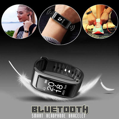 Smart Bluetooth Headphone Bracelet