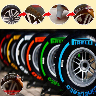 Colourful Waterproof Tire Marker