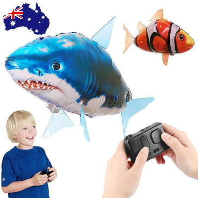 Remote Control Flying Shark And  Clown Fish