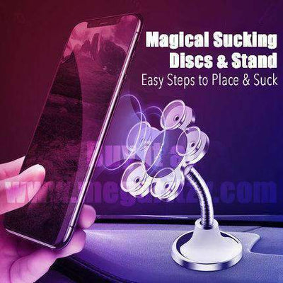 360-Degree Rotating Magic Sucker Phone Holder