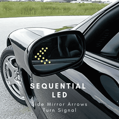 Sequential LED Side Mirror Arrows Turn Signal