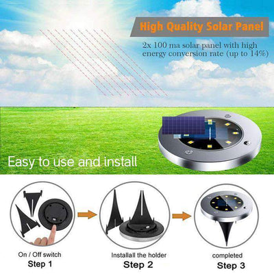 Christmas Pre-Sale Solar LED Ground Lights