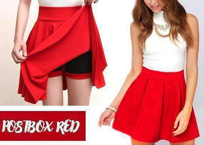 Chub-Rub Free and Wardrobe-Malfunction-Free Shorts Skirt (S-XXXXL)