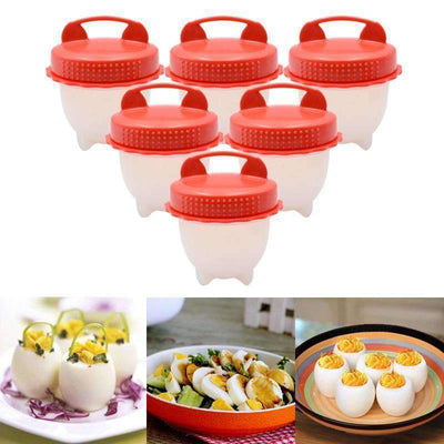 Silicone Egg Poacher Cup - 3pcs/ 6pcs