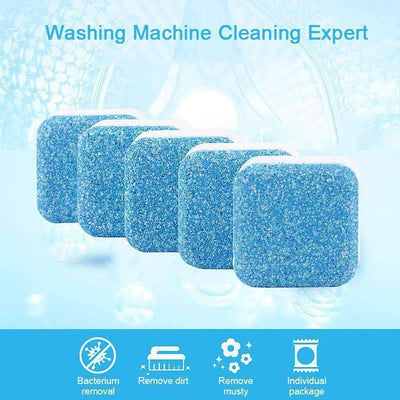 Antibacterial Washing Machine Cleaner - 12pcs