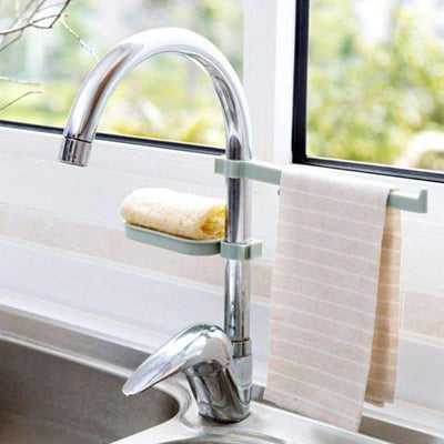 Sink Faucet Clippable Rack